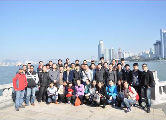 中安科技2014年厦门休闲游