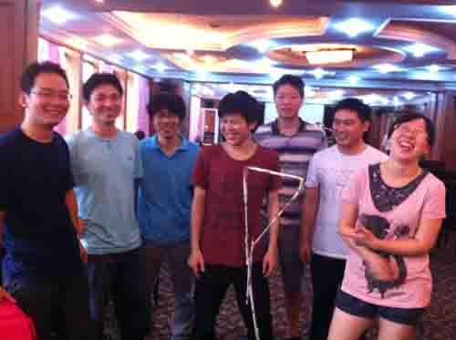 """中安公司技术部""""团队合作与沟通""""主题培训圆满结束(2011/09/19"""